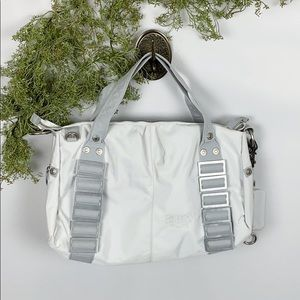 George Gina & Lucy Large White Tote Bag